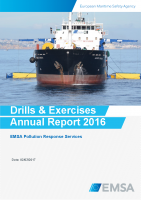 Network of Stand-by Oil Spill Response Vessels: Drills and Exercises. Annual Report 2016