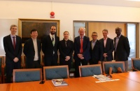 The SAFEMED IV and the Black and Caspian Sea projects meet with the World Maritime University