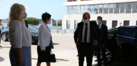 French minister for Europe and Foreign affairs Jean-Yves Le Drian visits EMSA