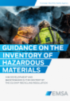 EMSA Guidance on the Inventory of Hazardous Materials