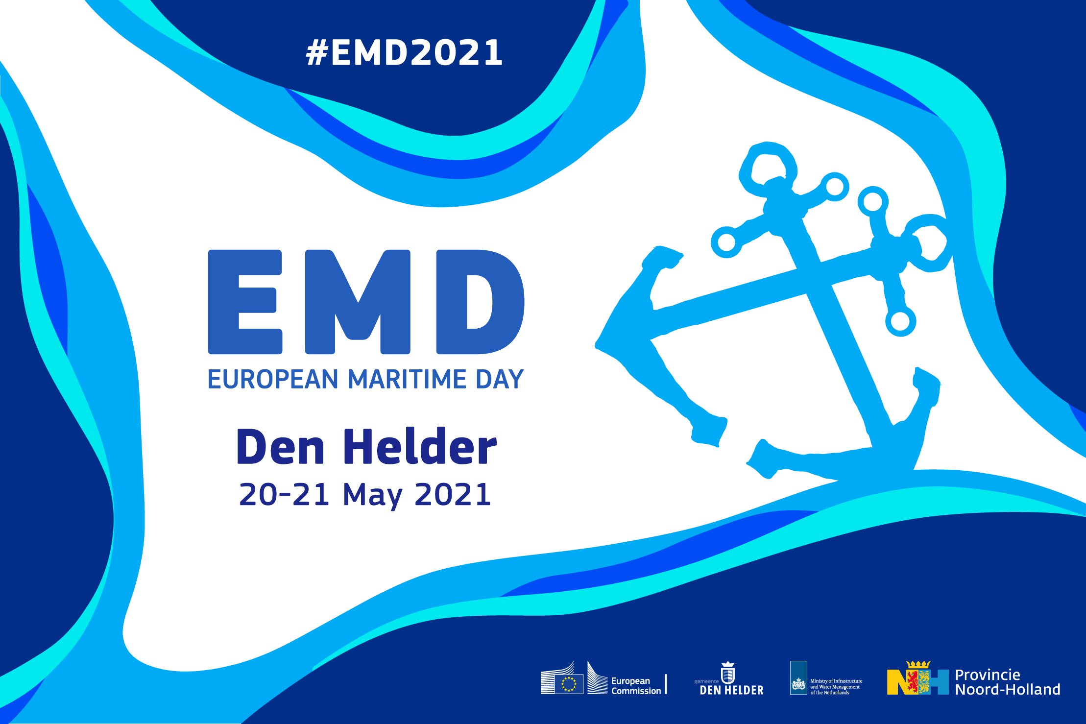 EMD2021 kicks off from Den Helder on 20-21 May!